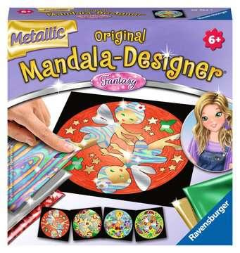 Metallic Mandala-Designer Fantasy Malen und Basteln;Malsets - Bild 1 - Ravensburger