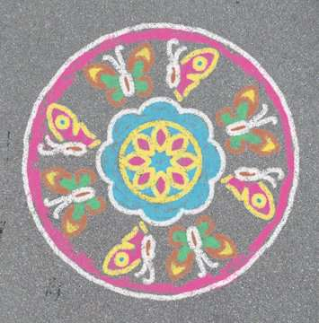 Outdoor Mandala- Designer® Flowers & Butterflies Hobby;Outdoor - image 2 - Ravensburger
