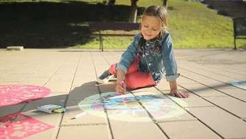 Outdoor Mandala- Designer® Flowers & Butterflies Arts & Crafts;Mandala-Designer® - image 4 - Ravensburger