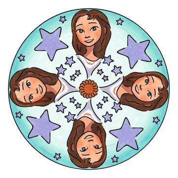 Mini Mandala Designer® Spirit Malen und Basteln;Malsets - Bild 6 - Ravensburger