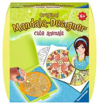 Mini Mandala-Designer Cute Animals Malen und Basteln;Malsets - Bild 1 - Ravensburger
