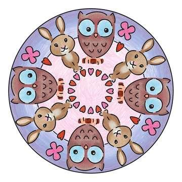 Mandala - mini - Cute animals Loisirs créatifs;Dessin - Image 3 - Ravensburger