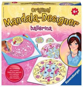 Mandala  - midi - Ballerina Loisirs créatifs;Dessin - Image 1 - Ravensburger