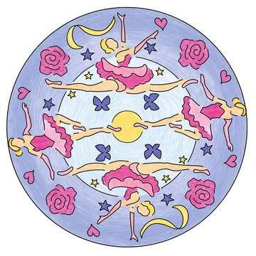 Mandala  - midi - Ballerina Loisirs créatifs;Dessin - Image 4 - Ravensburger
