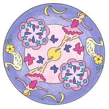 Mandala  - midi - Ballerina Loisirs créatifs;Dessin - Image 7 - Ravensburger