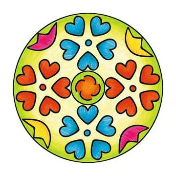 Mandala  - midi - Flowers & butterflies Loisirs créatifs;Dessin - Image 12 - Ravensburger
