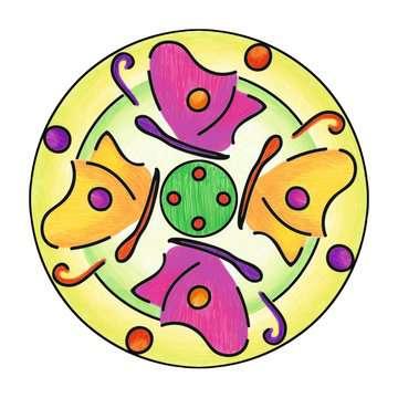Mandala  - midi - Flowers & butterflies Loisirs créatifs;Dessin - Image 3 - Ravensburger