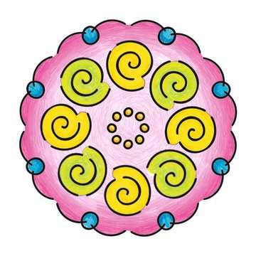 Mandala  - midi - Flowers & butterflies Loisirs créatifs;Dessin - Image 5 - Ravensburger