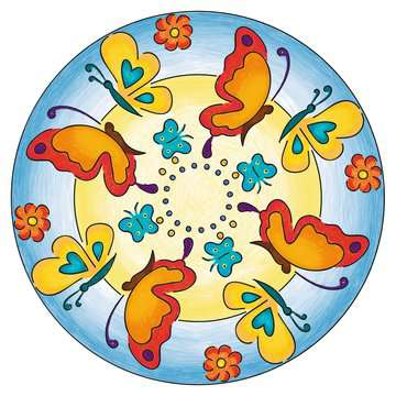 Mandala  - midi - Flowers & butterflies Loisirs créatifs;Dessin - Image 10 - Ravensburger