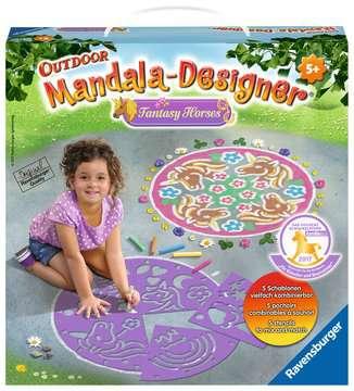 Outdoor Mandala- Designer® Fantasy Horses Hobby;Outdoor - image 1 - Ravensburger