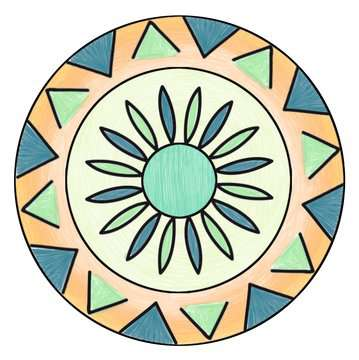 Mandala - midi - Disney Vaiana Loisirs créatifs;Dessin - Image 2 - Ravensburger