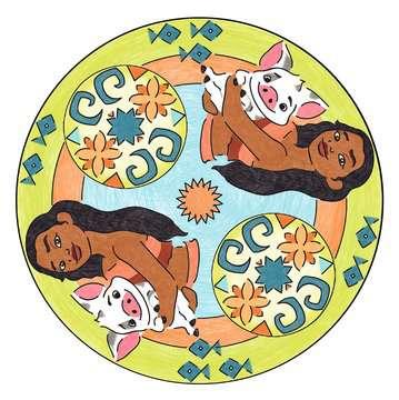 Mandala - midi - Disney Vaiana Loisirs créatifs;Dessin - Image 6 - Ravensburger