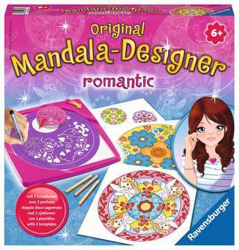 Mandala - Romantic Loisirs créatifs;Mandala-Designer® - Image 1 - Ravensburger