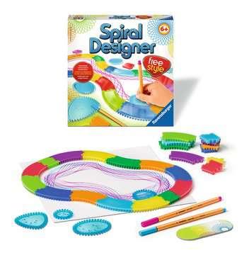 Spiral Designer Freestyle Hobby;Creatief - image 3 - Ravensburger