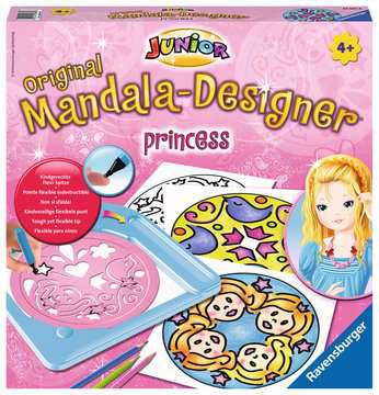 Junior Mandala-Designer® Princess Arts & Crafts;Mandala-Designer® - image 1 - Ravensburger