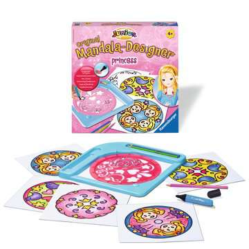 Junior Mandala-Designer® Princess Arts & Crafts;Mandala-Designer® - image 2 - Ravensburger