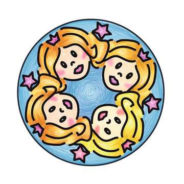 Junior Mandala-Designer® Princess Arts & Crafts;Mandala-Designer® - image 3 - Ravensburger
