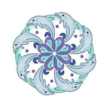 Mandala-Designer® Ocean Arts & Crafts;Mandala-Designer® - image 6 - Ravensburger