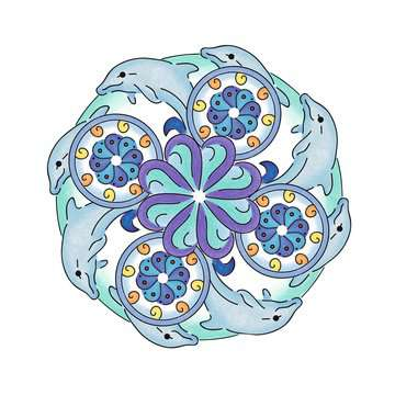 Mandala-Designer® Ocean Arts & Crafts;Mandala-Designer® - image 10 - Ravensburger