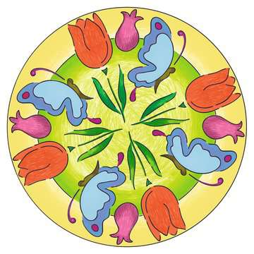 Mandala-Designer® Garden Arts & Crafts;Mandala-Designer® - image 6 - Ravensburger