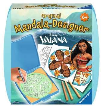 Mandala - mini - Vaiana Loisirs créatifs;Dessin - Image 1 - Ravensburger
