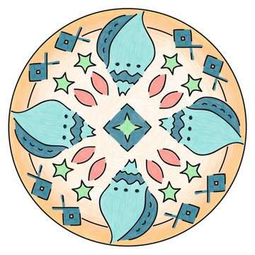 Mandala - mini - Vaiana Loisirs créatifs;Dessin - Image 2 - Ravensburger