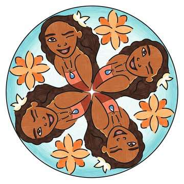 Mandala - mini - Vaiana Loisirs créatifs;Dessin - Image 5 - Ravensburger