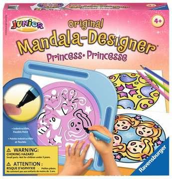 Junior Mandala-Designer® Princess Arts & Crafts;Mandala-Designer® - image 1 - Ravensburger