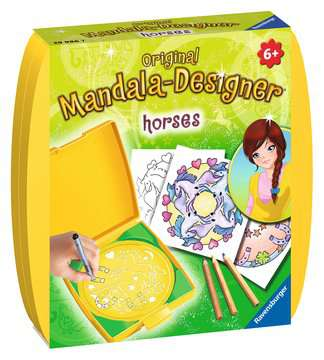 Mini Mandala-Designer®  horses Hobby;Mandala-Designer® - image 1 - Ravensburger