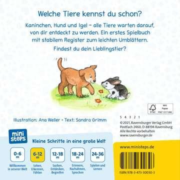 30030 Babybücher und Pappbilderbücher Alle meine Lieblingstiere von Ravensburger 3