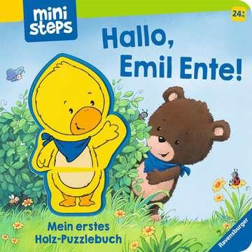 30060 Babybücher und Pappbilderbücher Hallo, Emil Ente! Mein erstes Holzpuzzle-Buch von Ravensburger 1