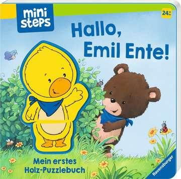 30060 Babybücher und Pappbilderbücher Hallo, Emil Ente! Mein erstes Holzpuzzle-Buch von Ravensburger 2