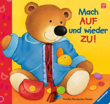 31481 Babybücher und Pappbilderbücher Mach auf und wieder zu! von Ravensburger 1