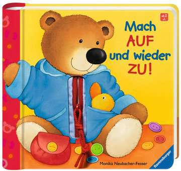 31481 Babybücher und Pappbilderbücher Mach auf und wieder zu! von Ravensburger 2