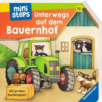 31544 Babybücher und Pappbilderbücher Unterwegs auf dem Bauernhof von Ravensburger 2