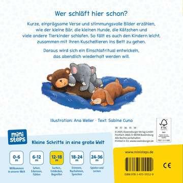 31552 Babybücher und Pappbilderbücher Wenn kleine Tiere müde sind von Ravensburger 3