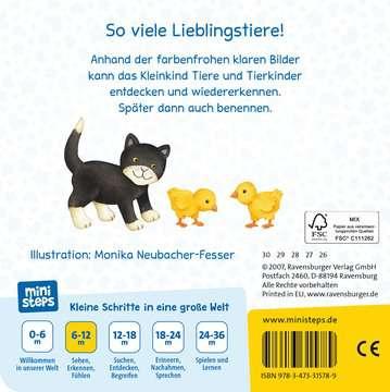 Meine allerersten Tiere Kinderbücher;Babybücher und Pappbilderbücher - Bild 3 - Ravensburger