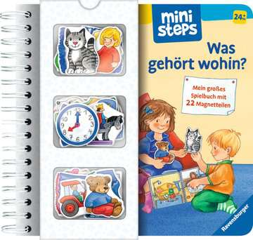 Was gehört wohin? Kinderbücher;Babybücher und Pappbilderbücher - Bild 1 - Ravensburger