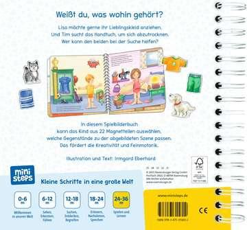31580 Babybücher und Pappbilderbücher Was gehört wohin? von Ravensburger 3