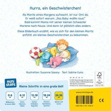 31581 Babybücher und Pappbilderbücher Wir sind jetzt vier! von Ravensburger 3