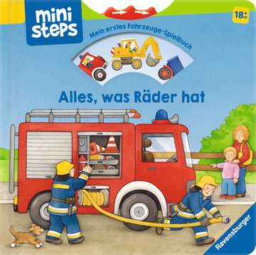 31587 Babybücher und Pappbilderbücher Alles, was Räder hat von Ravensburger 1