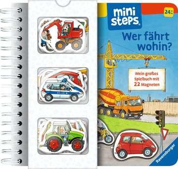 31603 Babybücher und Pappbilderbücher Wer fährt wohin? von Ravensburger 1