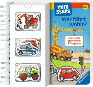 31603 Babybücher und Pappbilderbücher Wer fährt wohin? von Ravensburger 2