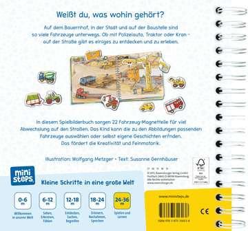 31603 Babybücher und Pappbilderbücher Wer fährt wohin? von Ravensburger 3