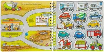 31603 Babybücher und Pappbilderbücher Wer fährt wohin? von Ravensburger 4