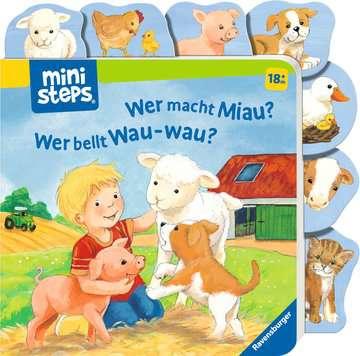 31609 Babybücher und Pappbilderbücher Wer macht Miau? Wer bellt Wau-wau? von Ravensburger 2