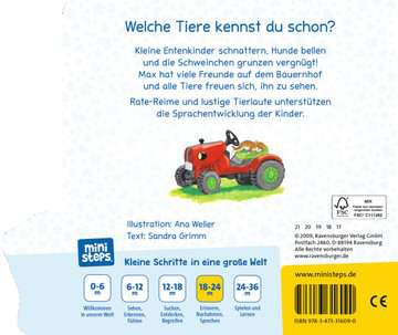 31609 Babybücher und Pappbilderbücher Wer macht Miau? Wer bellt Wau-wau? von Ravensburger 3