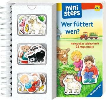 31631 Babybücher und Pappbilderbücher Wer füttert wen? von Ravensburger 2