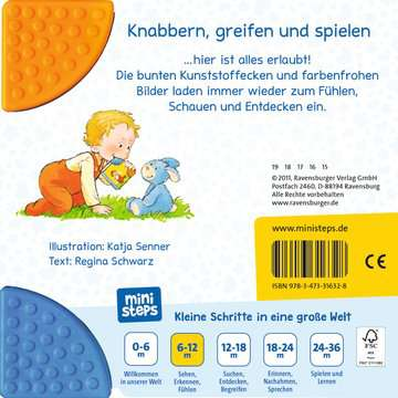 31632 Babybücher und Pappbilderbücher Mein erstes Buch zum Anbeißen von Ravensburger 3