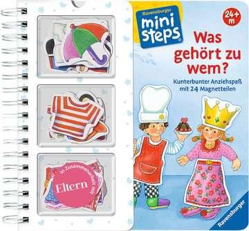 31645 Babybücher und Pappbilderbücher Was gehört zu wem? von Ravensburger 1